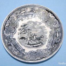 Antigüedades: PLATO EN PORCELANA CARTAGENA. Lote 218153922