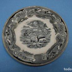 Antigüedades: PLATO EN PORCELANA CARTAGENA. Lote 218154237