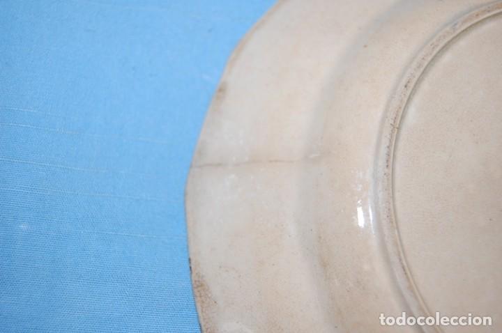 Antigüedades: PLATO EN PORCELANA CARTAGENA - Foto 5 - 218154466