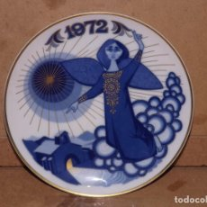 Oggetti Antichi: PLATO PORCELANA SANTA CLARA - NAVIDAD 1972. Lote 218156207