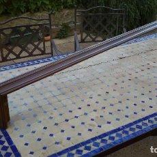 Antigüedades: GALERÍA ANTIGUA PARA CORTINAS. Lote 218157686