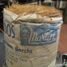 Antigüedades: LOCAL VIGO - ESTROPAJO ESPARTO ' SUPERMERCADOS ADRIANO MARTINEZ GARCIA ' HACIA 1940 EXCELENTE + INFO. Lote 218162183