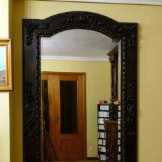 Antigüedades: ESPEJO DE PIE. Lote 218179962
