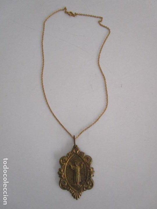 Antigüedades: Medalla Religiosa - Dejad que los Niños se Acerquen a Mi - Congregación del Niño Jesús - Foto 8 - 218191518