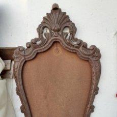 Antigüedades: MOLDURA TALLADA PARA ESPEJO. Lote 218196353
