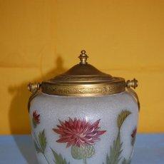 Antigüedades: GALLETERO MODERNISTA. Lote 218199356
