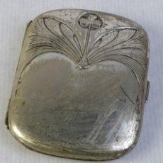 Antigüedades: PITILLERA EN PLATA PUNZONADA. Lote 218200071