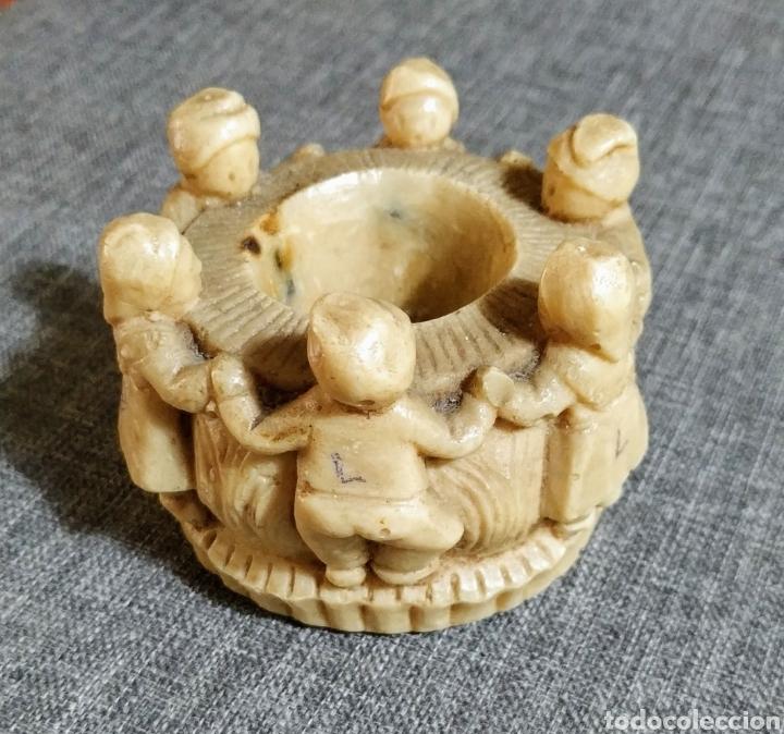 PORTAVELAS ARTESANAL (Antigüedades - Hogar y Decoración - Portavelas Antiguas)
