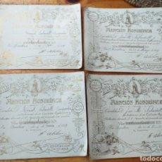 Antigüedades: COLEGIO DE HERMANOS MARISTAS 1916 Y 1917. Lote 218225936