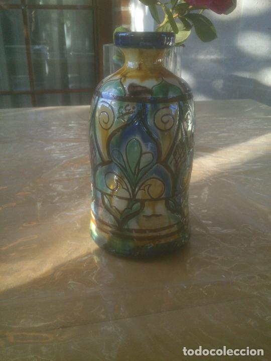 Antigüedades: Fantástico jarron de TALAVERA .GC. - Foto 5 - 218269623