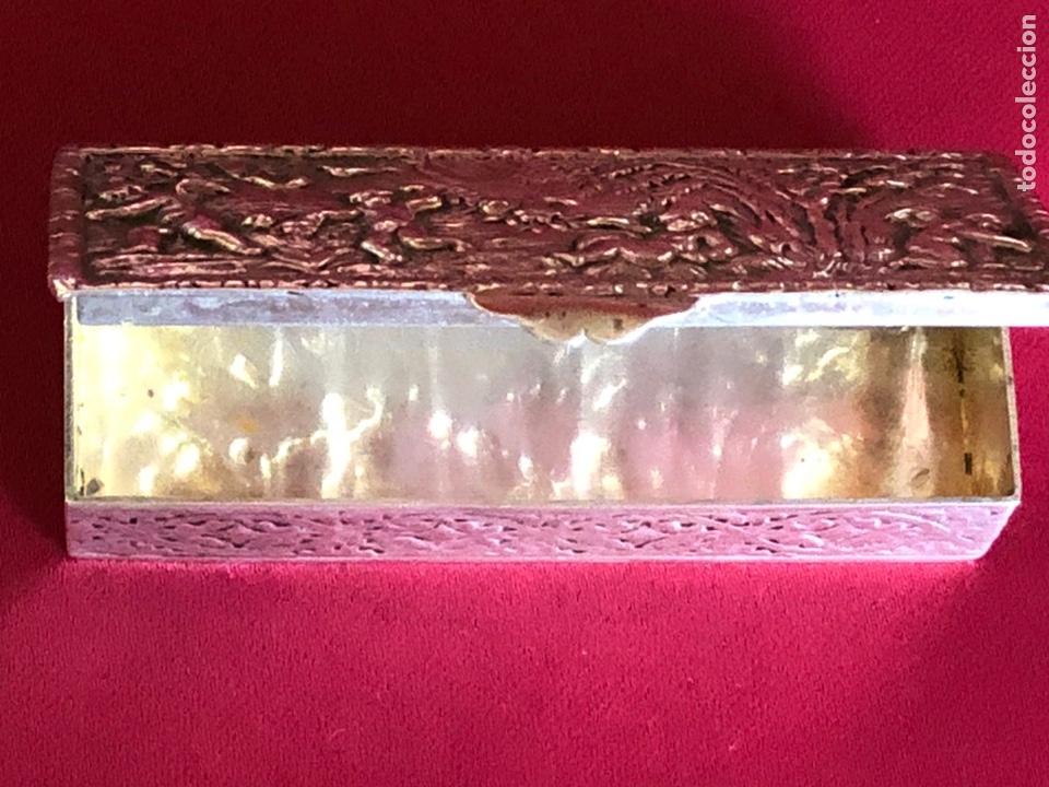 Antigüedades: PRECIOSA CAJA DE PLATA ESPAÑOLA - Foto 6 - 218278462