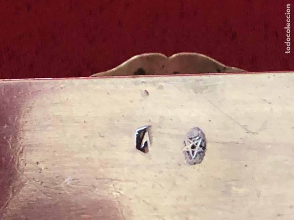 Antigüedades: PRECIOSA CAJA DE PLATA ESPAÑOLA - Foto 7 - 218278462
