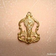 Antigüedades: ANTIGUA MEDALLA DE NUESTRA SEÑORA DEL PILAR DE ZARAGOZA.. Lote 218280757
