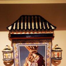 Antigüedades: JESÚS DE NAZARENO CAPILLA CERAMICA. Lote 218281437