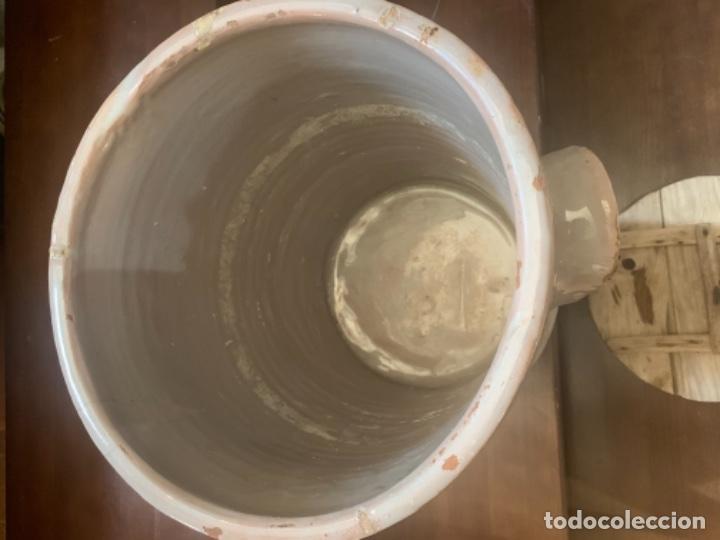 Antigüedades: DE COLECCIÓN ANTIGUA QUESERA EN CERÁMICA DE FAJALAUZA - Foto 12 - 218295478