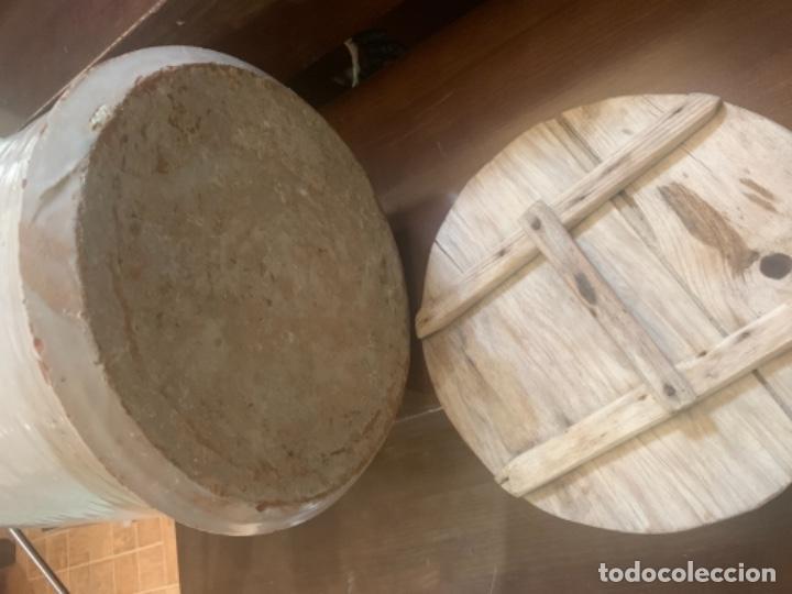 Antigüedades: DE COLECCIÓN ANTIGUA QUESERA EN CERÁMICA DE FAJALAUZA - Foto 15 - 218295478
