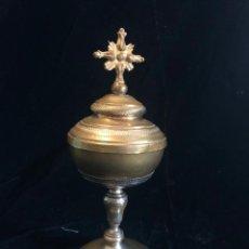 Antigüedades: COPON DE METAL. Lote 218317031