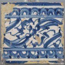 Antigüedades: AZULEJO DE TALAVERA. SIGLO XVI. Lote 218320978