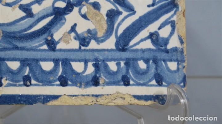 Antigüedades: AZULEJO DE TALAVERA. SIGLO XVI - Foto 3 - 218320978