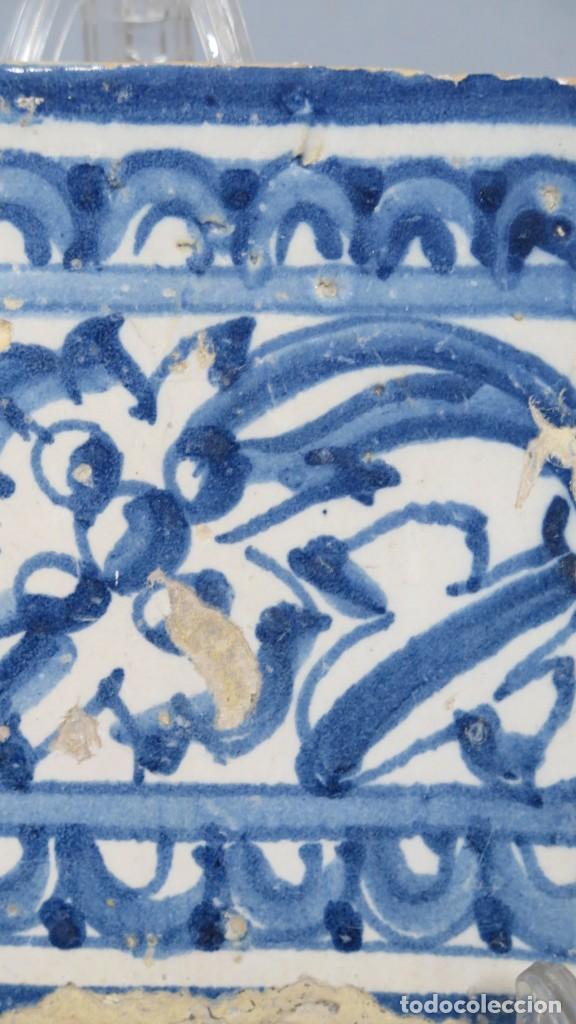 Antigüedades: AZULEJO DE TALAVERA. SIGLO XVI - Foto 4 - 218320978
