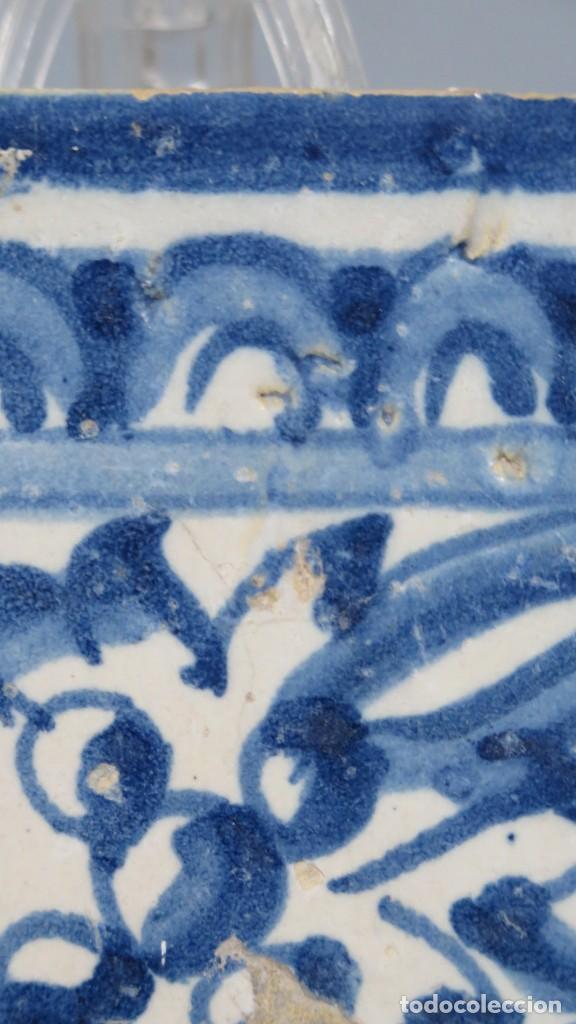 Antigüedades: AZULEJO DE TALAVERA. SIGLO XVI - Foto 5 - 218320978