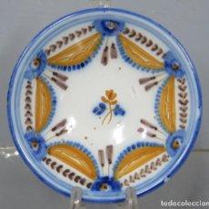 Antigüedades: ANTIGUO PLATO DE TALAVERA. SERIE PABELLONES. SIGLO XIX. Lote 218321653