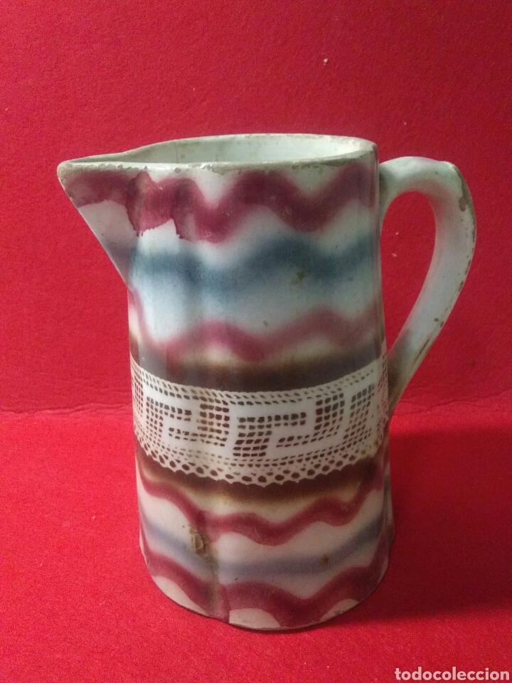 Antigüedades: Antigua jarra de ceramica siglo XIX - Foto 2 - 218342515