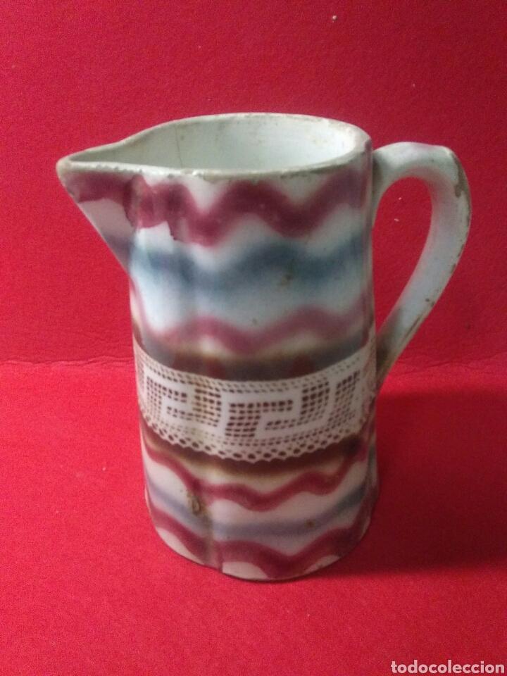 Antigüedades: Antigua jarra de ceramica siglo XIX - Foto 3 - 218342515