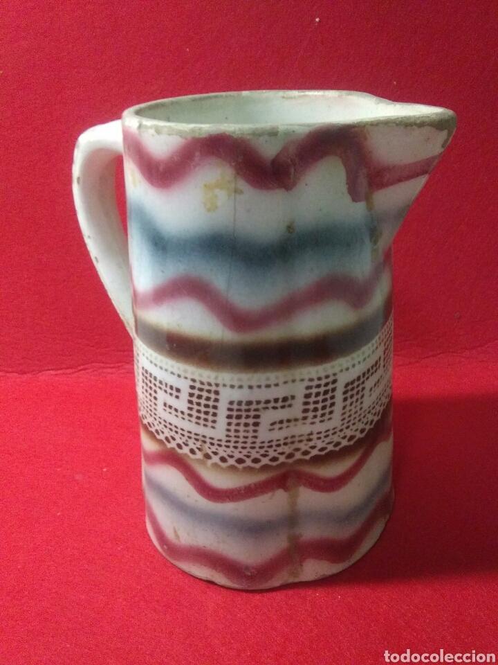 Antigüedades: Antigua jarra de ceramica siglo XIX - Foto 4 - 218342515
