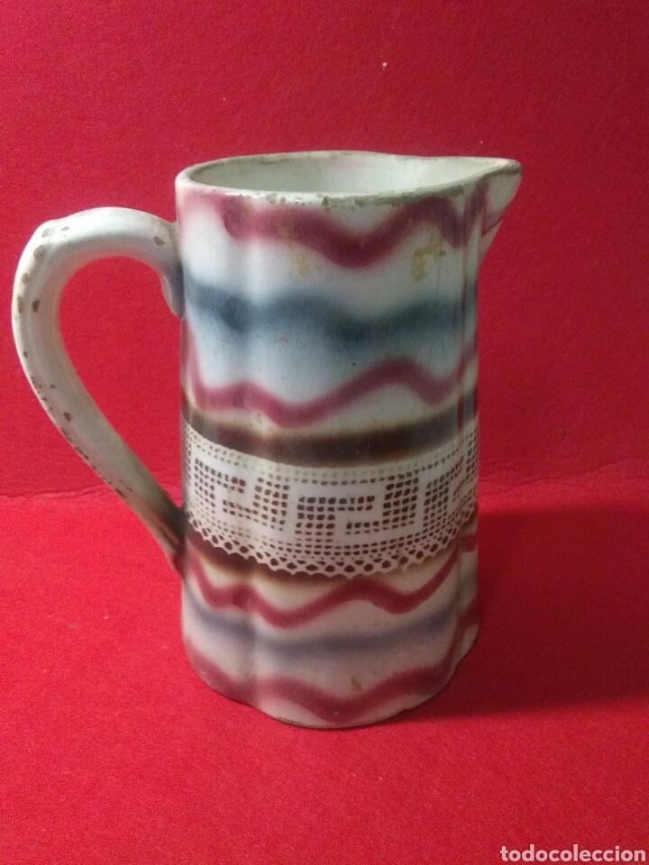 Antigüedades: Antigua jarra de ceramica siglo XIX - Foto 5 - 218342515
