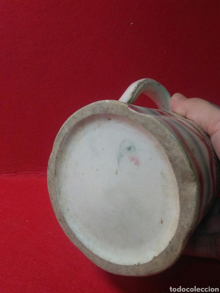 Antigüedades: Antigua jarra de ceramica siglo XIX - Foto 6 - 218342515