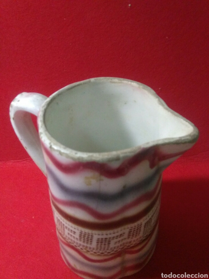 Antigüedades: Antigua jarra de ceramica siglo XIX - Foto 8 - 218342515