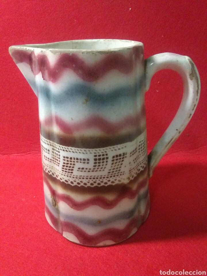 ANTIGUA JARRA DE CERAMICA SIGLO XIX (Antigüedades - Porcelanas y Cerámicas - Otras)
