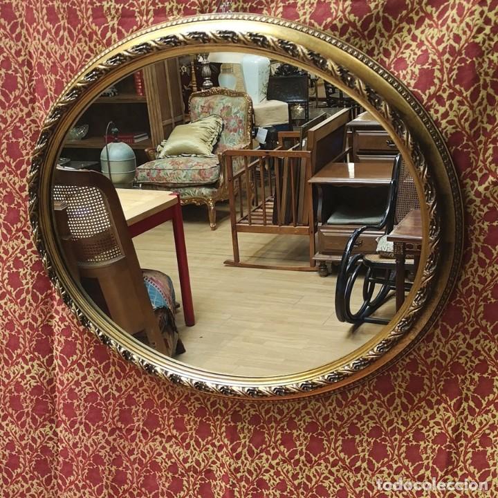 Antigüedades: Espejo Oval - Foto 2 - 218351525