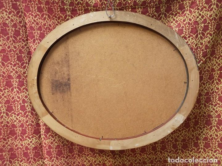 Antigüedades: Espejo Oval - Foto 4 - 218351525