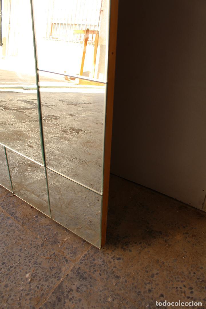 Antigüedades: espejo grande de recibidor - Foto 3 - 218353212