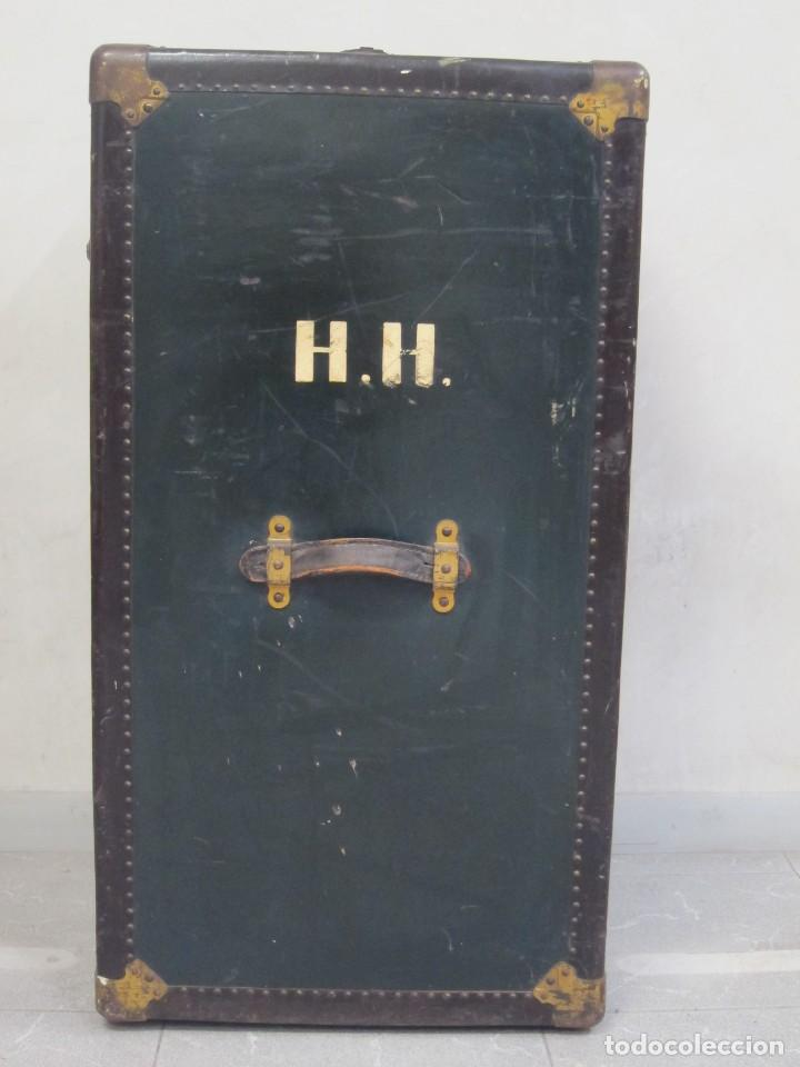 BAÚL DE ARTISTA 1900-1920 (Antigüedades - Muebles Antiguos - Baúles Antiguos)