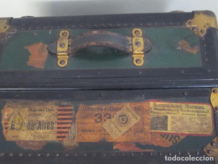 Antigüedades: Baúl de artista 1900-1920 - Foto 2 - 218357526
