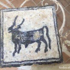 Antigüedades: AZULEJO GOTICO. Lote 218370960