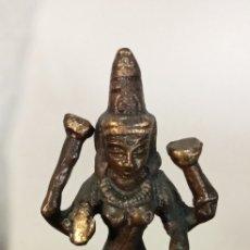 Antigüedades: LAKSHMI.DIOSA INDIA.FORTUNA ABUNDANCIA AMOR.. Lote 218386915