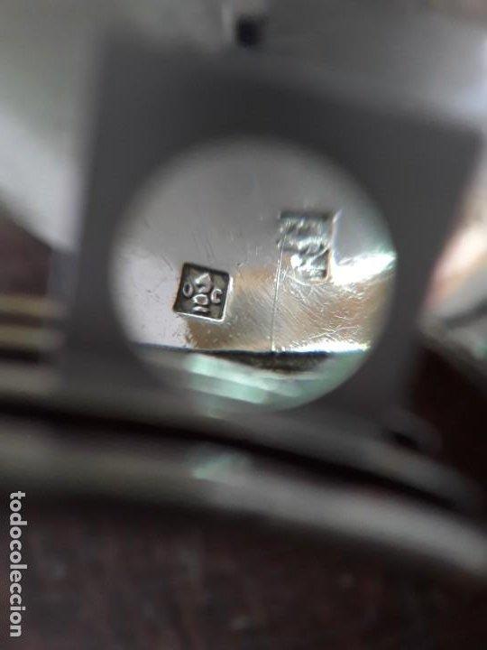 Antigüedades: Christofle, cuchara y tenedor plateados, con sus respectivos punzones. - Foto 3 - 218397580