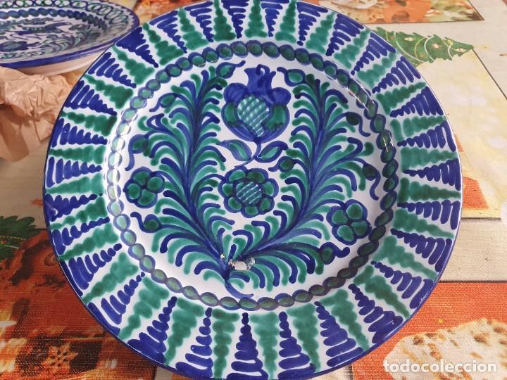 PLATO DE FAJALAUZA (Antigüedades - Porcelanas y Cerámicas - Fajalauza)