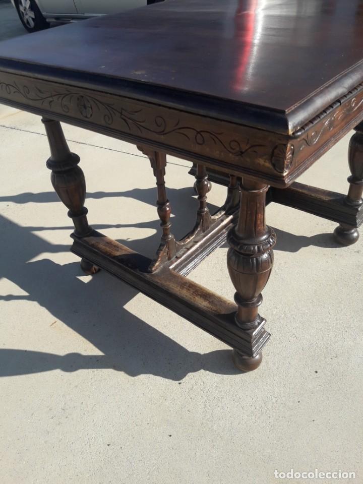 Antigüedades: Mesa de comedor - Foto 4 - 218465855