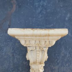 Antigüedades: PRECIOSA MÉNSULA DE MÁRMOL.. Lote 218509310