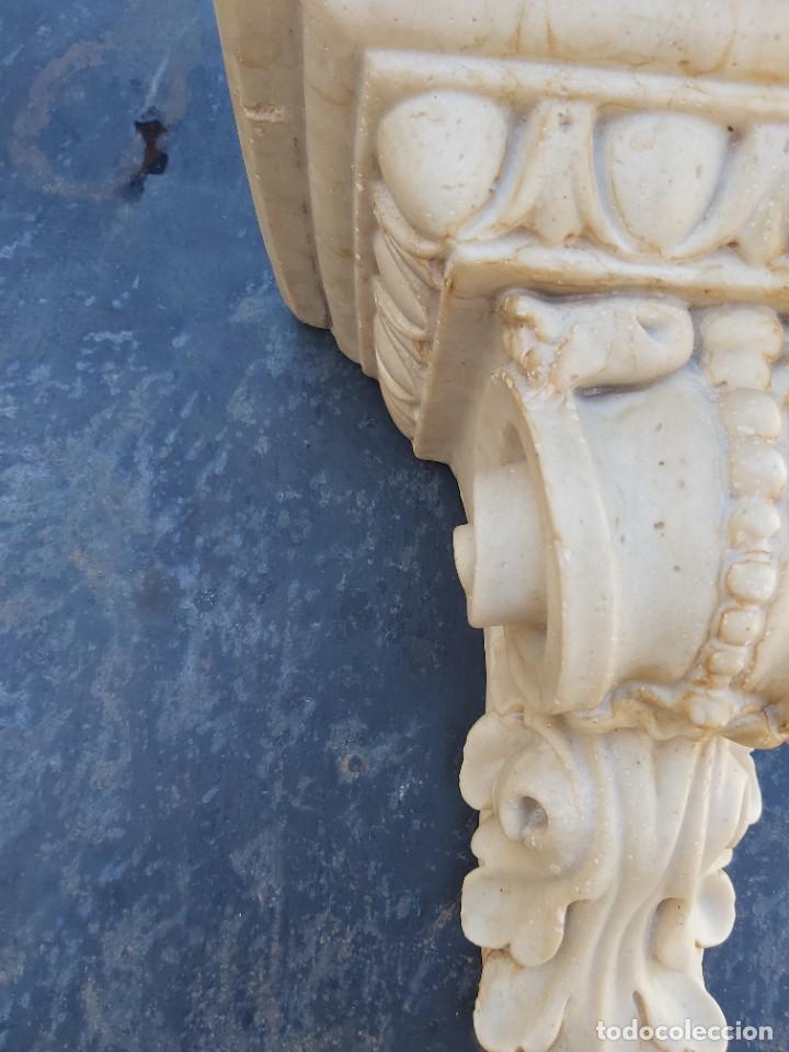 Antigüedades: Preciosa ménsula de mármol. - Foto 2 - 218509310