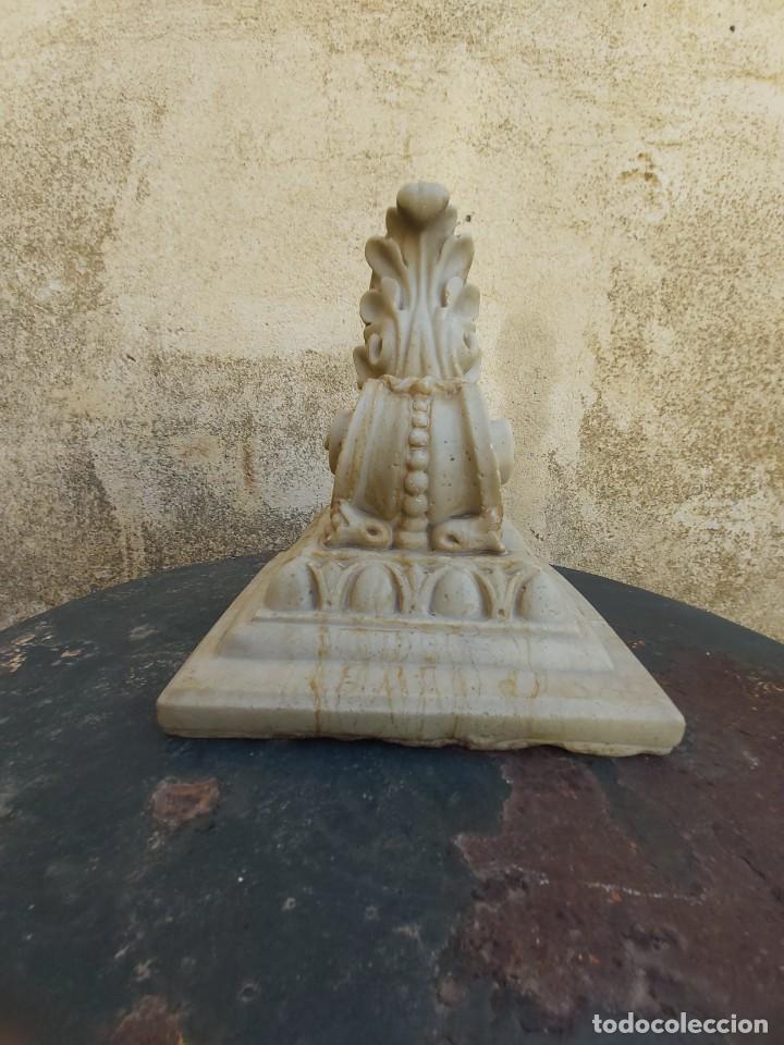 Antigüedades: Preciosa ménsula de mármol. - Foto 4 - 218509310