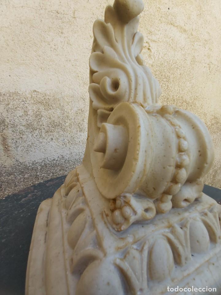 Antigüedades: Preciosa ménsula de mármol. - Foto 6 - 218509310