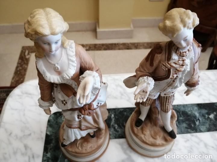 Antigüedades: Figuras de porcelana Francesa - Foto 3 - 218514515