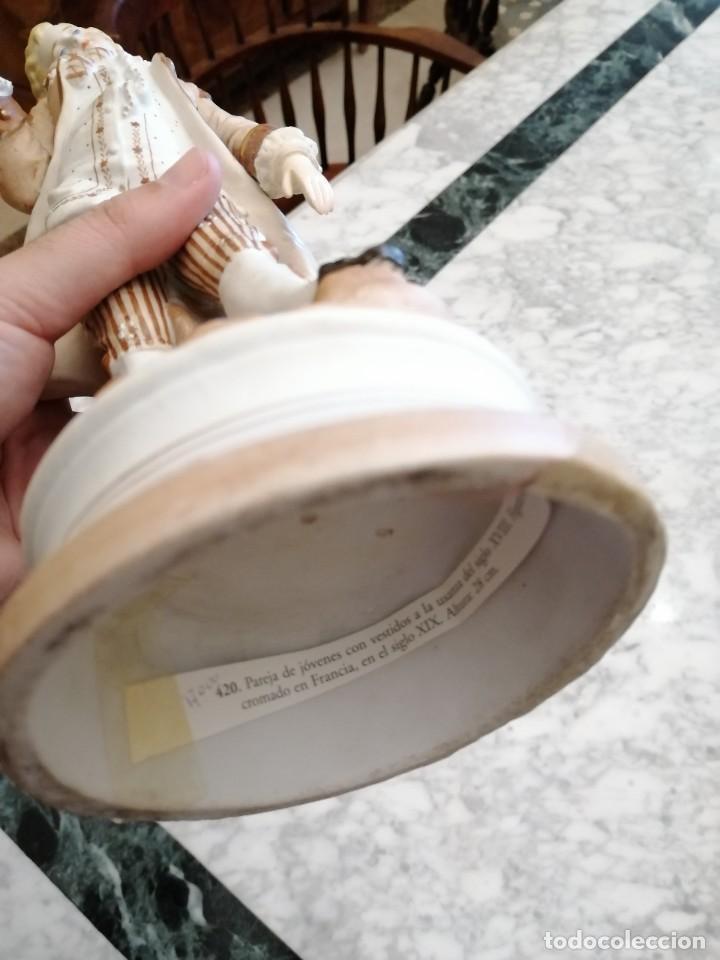 Antigüedades: Figuras de porcelana Francesa - Foto 5 - 218514515