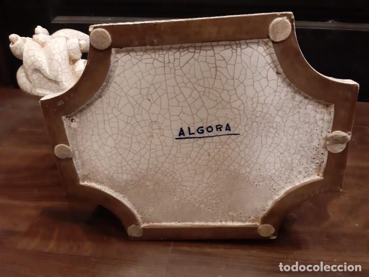 Antigüedades: LEON CHINO FIRMADO ALGORA 40X38X25 Cms / NECESITA RESTAURACIÓN / NO ENVIO (G) - Foto 18 - 218541068